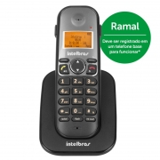 APARELHO TELEFONICO S/ FIO TS5121 RAMAL PT INTELBRAS
