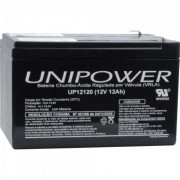 Bateria Estacionária Selada 12V/12A VRLA UP12120 UNIPOWER
