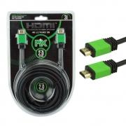 CABO HDMI PIX PREMIUM 2.0 4K 3MT 018-0320
