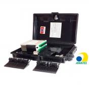 CAIXA CTO MONTADA C/ SPLITTER BOX 1X16 APC GMF-OF03001-16C-16P
