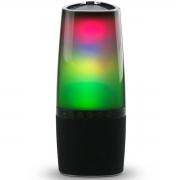 CAIXA DE SOM ATIVA PORTÁTIL LIGHT PULSE BLUETOOTH/SD/USB COM CONTROLE REMOTO