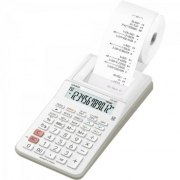 Calculadora com Bobina 12 Dígitos HR-8RC-WE-B-DC Branca CASIO