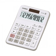 CALCULADORA DE MESA 12 DÍGITOS MX-12B-WE-DC BRANCA