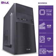 COMPUTADOR BUSINESS B300 - I3 7100 3.9GHZ MEM 4GB DDR4 HD 1TB HDMI/VGA FONTE 200W