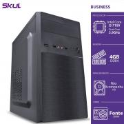 COMPUTADOR BUSINESS B300 - I3 7100 3.9GHZ MEM 4GB DDR4 SEM HD/SSD HDMI/VGA FONTE 200W