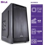 COMPUTADOR BUSINESS B500 - I5 10400 2.9GHZ MEM 8GB DDR4 SSD 120GB HDMI/VGA FONTE 300W