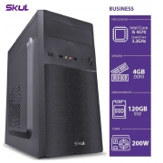 COMPUTADOR BUSINESS B500 - I5 4570 3.2GHZ 4GB DDR3 SSD 120GB HDMI/VGA FONTE 200W