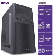 COMPUTADOR BUSINESS B500 - I5 4570 3.2GHZ 8GB DDR3 SSD 120GB HDMI/VGA FONTE 200W