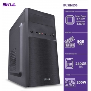 COMPUTADOR BUSINESS B500 - I5 4570 3.2GHZ 8GB DDR3 SSD 240GB HDMI/VGA FONTE 200W