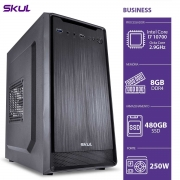 COMPUTADOR BUSINESS B700 - I7 10700 2.9GHZ MEM 8GB DDR4 SSD 480GB HDMI/VGA FONTE 250W
