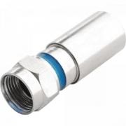 Conector F Compressão CNF-60012A RG6 PROELETRONIC - CEM / 100