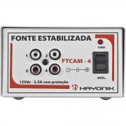 CONVERSOR HAYONIK FTCAM 4 12VDC X 2,0A