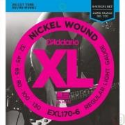 CORDA DADDARIO BAIXO 6C EXL170-6 / 032-130 / NICKEL WOUND