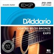 CORDA DADDARIO VIOLAO ACO EXP11 011/052 COATED 80/20