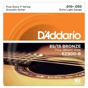 CORDA DADDARIO VIOLAO AÇO EZ900-B+PL010