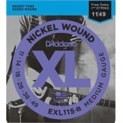ENCORDOAMENTO PARA GUITARRA - EXL115 6 CORDAS BLUES / JAZZ / ROCK .011-.049 - CORDA MI EXTRA