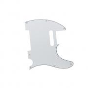 Escudo Guitarra Tele Branco 1 Camada Dolphin