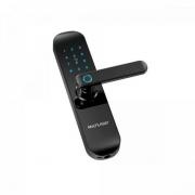 Fechadura Biométrica com Senha Inteligente Wi-Fi SE233 Preta MULTILASER