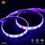 FITA DE LED VX GAMING RGB COM CONTROLADOR CONEXÃO MOLEX 60 PONTOS DE LED 1 METRO - LRM1
