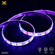 FITA DE LED VX GAMING RGB COM CONTROLADOR CONEXÃO USB 120 PONTOS DE LED 2 METROS - LRU2
