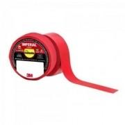 Fita Isolante 18mm X 10m IMPERIAL Vermelha 3M - PCT / 10
