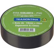 FITA ISOLANTE 5 METROS 0.13 X 19MM PRETA - PC / 10
