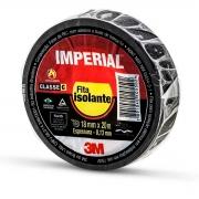 FITA ISOLANTE IMPERIAL 18MM 20 METROS PRETA - PC / 10