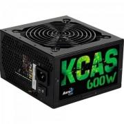 Fonte ATX KCAS 600W 80 Plus Bronze PFC Ativo AEROCOOL