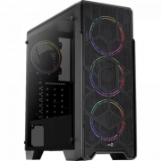 Gabinete Gamer Mid Tower ORE SATURN FRGB AEROCOOL