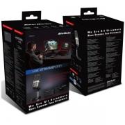 KIT LIVE STREAMER - PLACA DE CAPTURA GC311 + MICROFONE PROFISSIONAL AM310 + WEBCAM 1080P - BO311