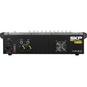 MESA DE SOM AMPLIFICADA 10 CANAIS 500W COM MP3, ENTRADA USB , COM EFEITOS VZ-100 II