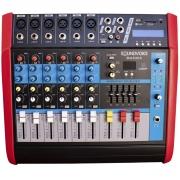 MESA DE SOM SOUNDVOICE 06 CANAIS MA630X (AMPLIFICADA)