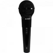 Microfone Dinâmico Cardióide MC200 Preto LESON
