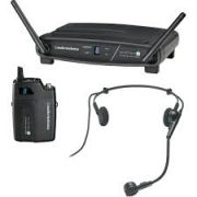 MICROFONE SEM FIO AUDIO-TECHNICA HEADSET ATW-1101/H