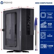 MINI COMPUTADOR LITE INTEL DUAL CORE J1800 2.41GHZ MEMORIA 4GB HD 500GB HDMI/VGA FONTE 130W LINUX - MVMLIJ18005004