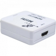 Mini Conversor HDMI x AV XC-MC-01 Branco FLEX