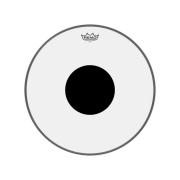 Pele 18 Pol Controlled Sound Transparente C/ Circulo Preto Cs-0318-10 Remo