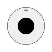 Pele P/bumbo 22 Pol Controlled Sound Transparente C/ Circulo Preto Cs-1322-10 Remo