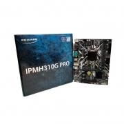 PLACA MAE IPMH310G PRO 2XDDR4 2400MHZ/1XPCIEX16/1XSERIAL/4XSATA3/2XUSB3.0/2XUSB2.0/1XHDMI/1XVGA/1DVI-D LGA 1151