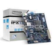 PLACA MÃE MINI-ITX IPX1800E2 COM PROC INTEG J1800 2.41GHZ 1X DDR3 SODIMM 4X USB 2.0 1X USB 3.0 HDMI/VGA REDE GIGABIT