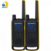 Rádio Comunicador Talkabout 35km T470BR Amarelo/Preto MOTOROLA - PAR / 2