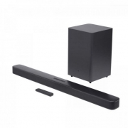 Soundbar com Subwoofer 2.1 Bluetooth 300W Deep Bass Preto JBL