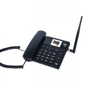 TELEFONE CELULAR RURAL FIXO DE MESA 3G E WIFI 5 BANDAS BDF-12