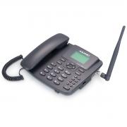 TELEFONE CELULAR RURAL FIXO DE MESA 3G PENTABAND  850, 900 ,1800, 1900 E 2100MHZ DUAL CHIP CA-42S3G