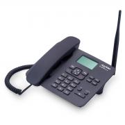 TELEFONE CELULAR RURAL FIXO DE MESA QUADRIBAND 850/900/1800/1900 MHZ  DUAL CHIP CA42S