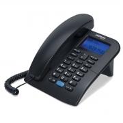 TELEFONE COM FIO E IDENTIFICADOR DE CHAMADAS TC 60 ID PRETO