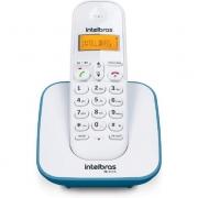 TELEFONE INTELBRAS SEM FIO TS3110 BRANCO E AZUL CLARO