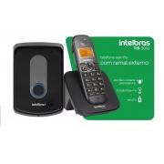 TELEFONE S/ FIO C/ RAMAL EXTERNO TIS5010 INTELBRAS