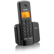 TELEFONE SEM FIO COM IDENTIFICADOR E VIVA VOZ TSF8001 PRETO
