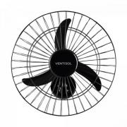 Ventilador de Parede 50cm 220V NEW PREMIUM Preto VENTISOL